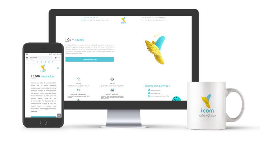 Développement site Icom