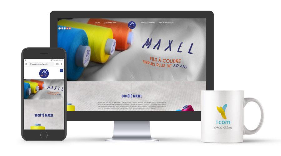 Développement site Maxel