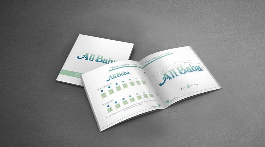 Charte graphique ALI BABA shopping center